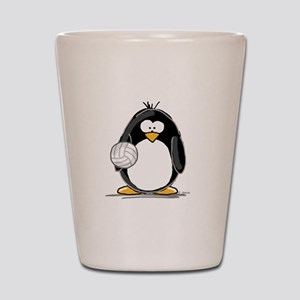 volleyball Penguin Shot Glass