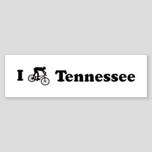 Mountain Bike Tennessee Bumper Sticker