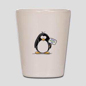 World's Greatest Dad Penguin Shot Glass