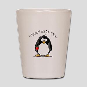 Teachers Pet Penguin Shot Glass