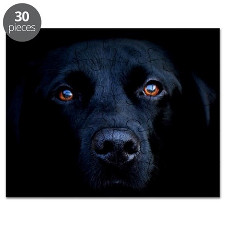 MIDNIGHT BLACK LAB Puzzle