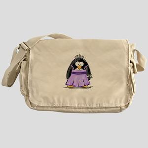 Prom penguin Messenger Bag