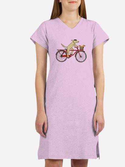 Dog & Squirrel Women's Nightshirt