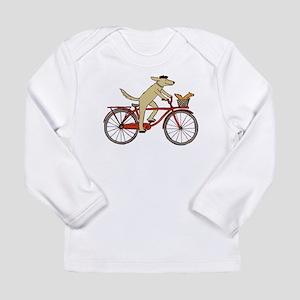 Dog & Squirrel Long Sleeve Infant T-Shirt