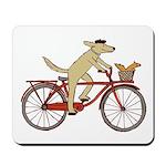 Dog & Squirrel Mousepad