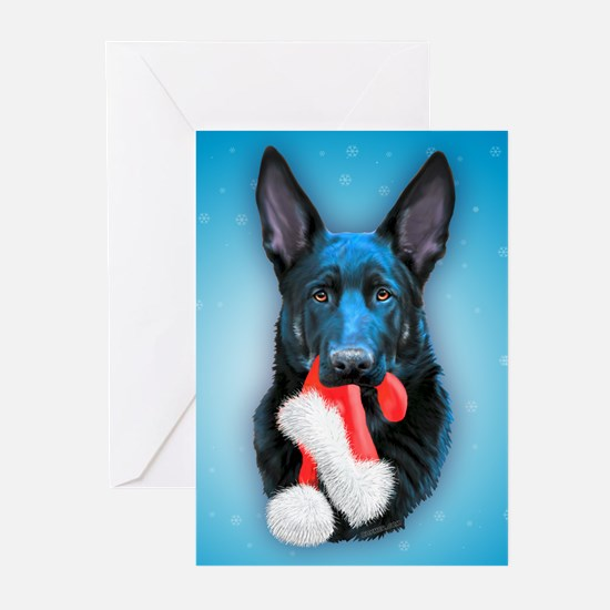 Vader Mischief Christmas (c) Greeting Cards- 20 pk