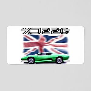 XJ220 Aluminum License Plate