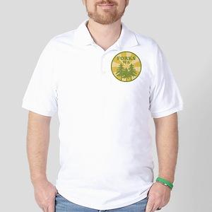 Forks, WA Golf Shirt