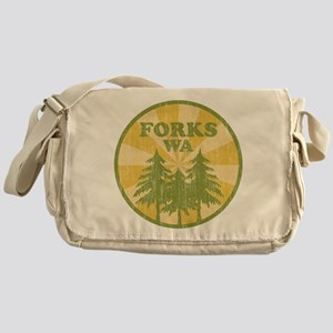 Forks, WA Messenger Bag