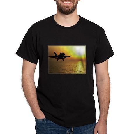 Sunset Black T-Shirt