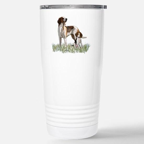 walker coon Hound Stainless Steel Travel Mug