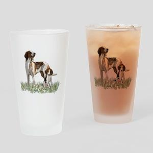walker coon Hound Drinking Glass