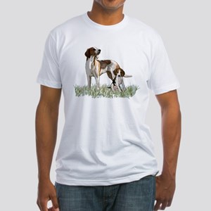 walker coon Hound Fitted T-Shirt