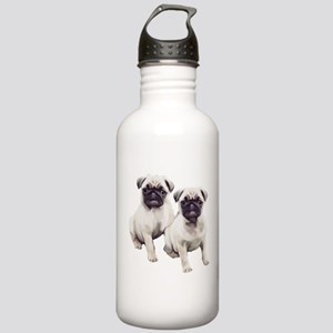 Pugs sitting Stainless Water Bottle 1.0L