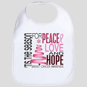 Christmas 1 Breast Cancer Bib
