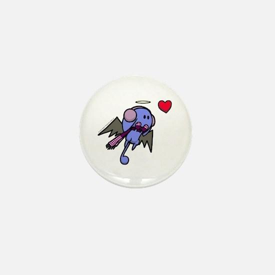 Winter Angel Mini Button