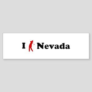 I Golf Nevada Bumper Sticker