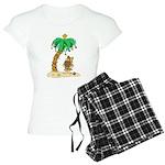 Desert Island Christmas Women's Light Pajamas