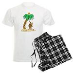 Desert Island Christmas Men's Light Pajamas