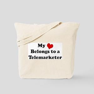 Heart Belongs: Telemarketer Tote Bag