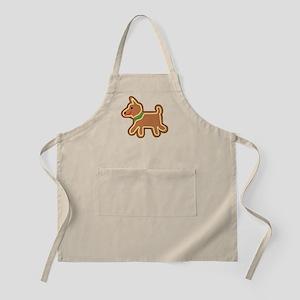Gingerbread Dog Apron