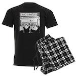 Bamboostravaganza (no text) Men's Dark Pajamas