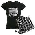 Bamboostravaganza (no text) Women's Dark Pajamas