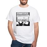 Bamboostravaganza (no text) White T-Shirt
