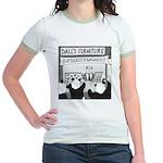 Bamboostravaganza (no text) Jr. Ringer T-Shirt