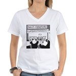 Bamboostravaganza (no text) Women's V-Neck T-Shirt