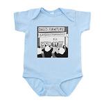 Bamboostravaganza (no text) Infant Bodysuit