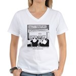 Bamboostravaganza Women's V-Neck T-Shirt