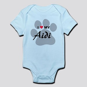I Love My Aidi Infant Bodysuit