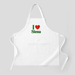 I Love Siena BBQ Apron