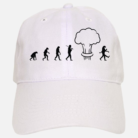 Nuclear Evolution Baseball Baseball Cap