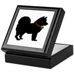 Christmas or Holiday Chow Chow Silhouette Keepsake
