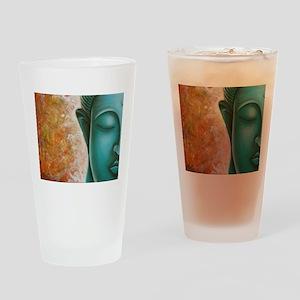 Aqua Buddha Drinking Glass