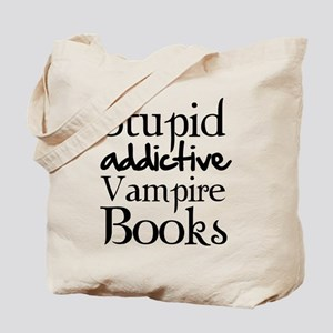 Stupid addictive vampire books Tote Bag