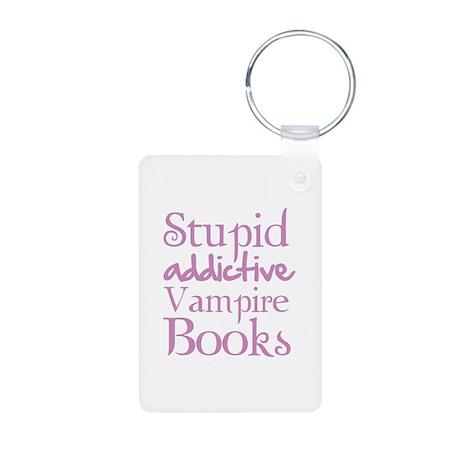 Stupid addictive vampire books Aluminum Photo Keyc