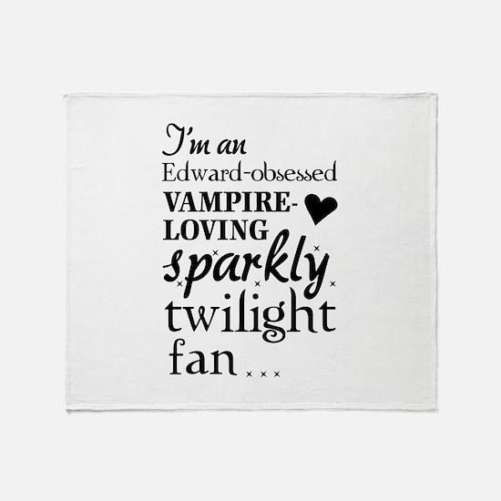 Vampire-loving sparkly twilight fan Stadium Blank