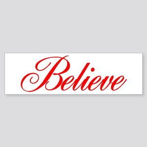 BELIEVE Sticker (Bumper)