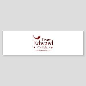 Team Edward Sticker (Bumper)