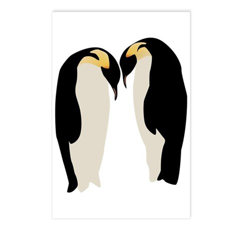 Emperor Penguins Postcards (Package of 8)