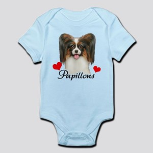 Love Papillons! Infant Bodysuit