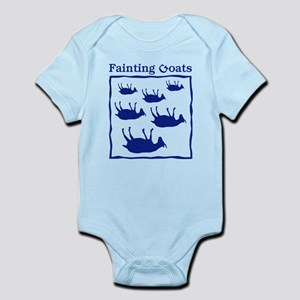 Fainting Goats Infant Bodysuit