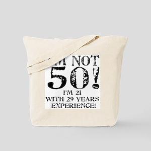 Fiftieth Birthday Tote Bag