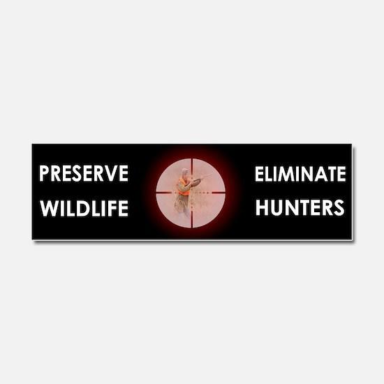 Anti-Hunting Car Magnet 10 x 3