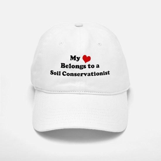 Heart Belongs: Soil Conservat Baseball Baseball Cap