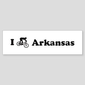 Mountain Bike Arkansas Bumper Sticker