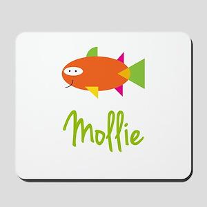 Mollie is a Big Fish Mousepad